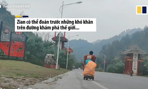 Chàng trai Trung Quốc từng đi bộ qua 27 tỉnh ở Việt Nam