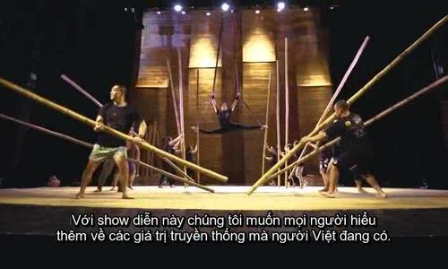 Show diễn xiếc tre đầu tiên của Việt Nam lên báo Mỹ
