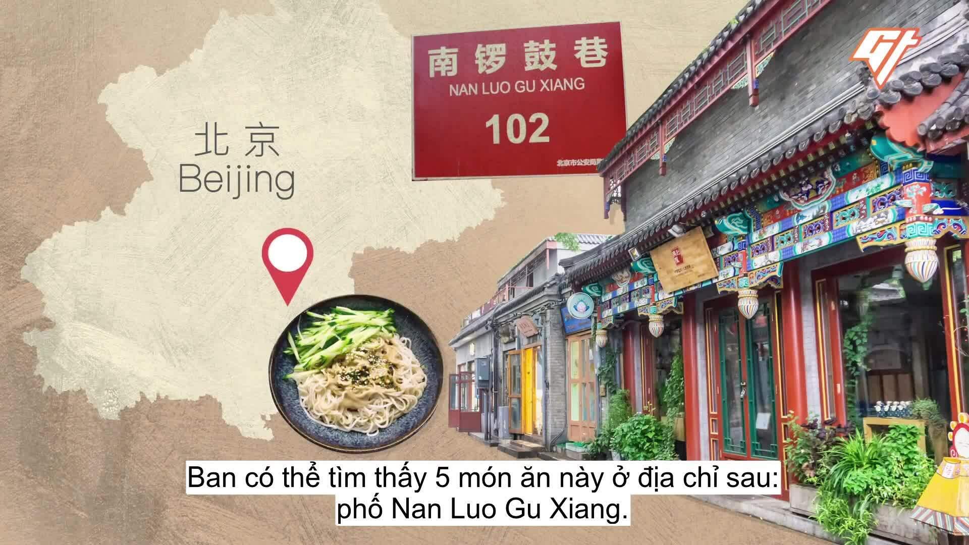 5 món đường phố không nên bỏ lỡ ở Bắc Kinh