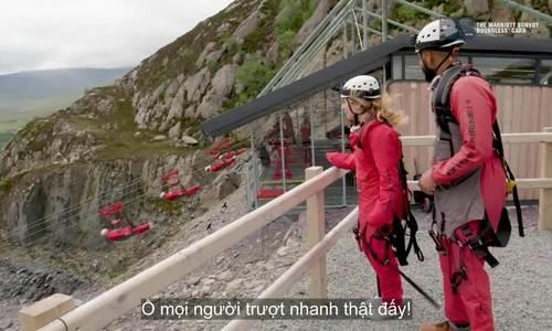 Trượt zipline có tốc độ nhanh nhất thế giới