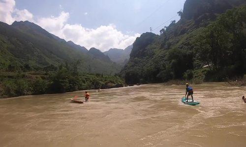 Giải đua thuyềnvượt thác đầu tiên tại Việt Nam
