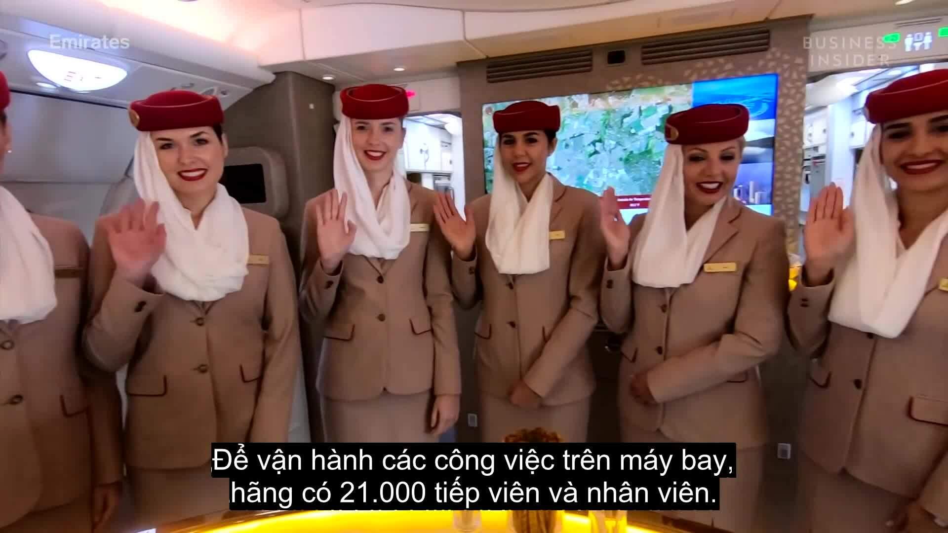 Đặc quyền cho tiếp viên của hàng không 5 sao