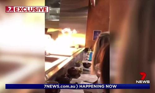 Khách nhí bị bỏng khi ăn tối tại nhà hàng Nhật