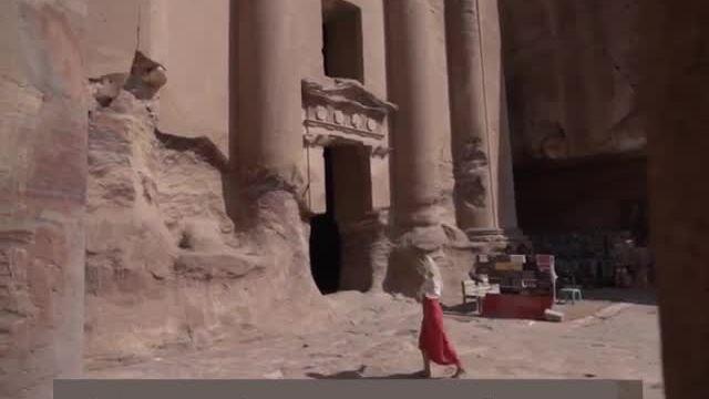 Những tàn tích của 'thành phố hoa hồng' cổ xưa
