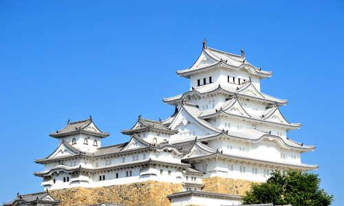 Lâu đài Hạc Trắng nổi tiếng của Nhật Bản