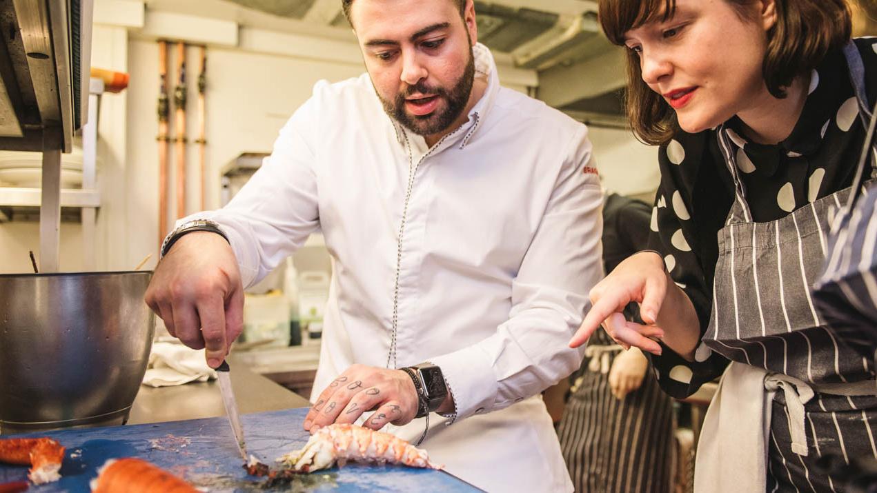 Nhà hàng đạt sao Michelin tái chế tất cả chất thải thực phẩm