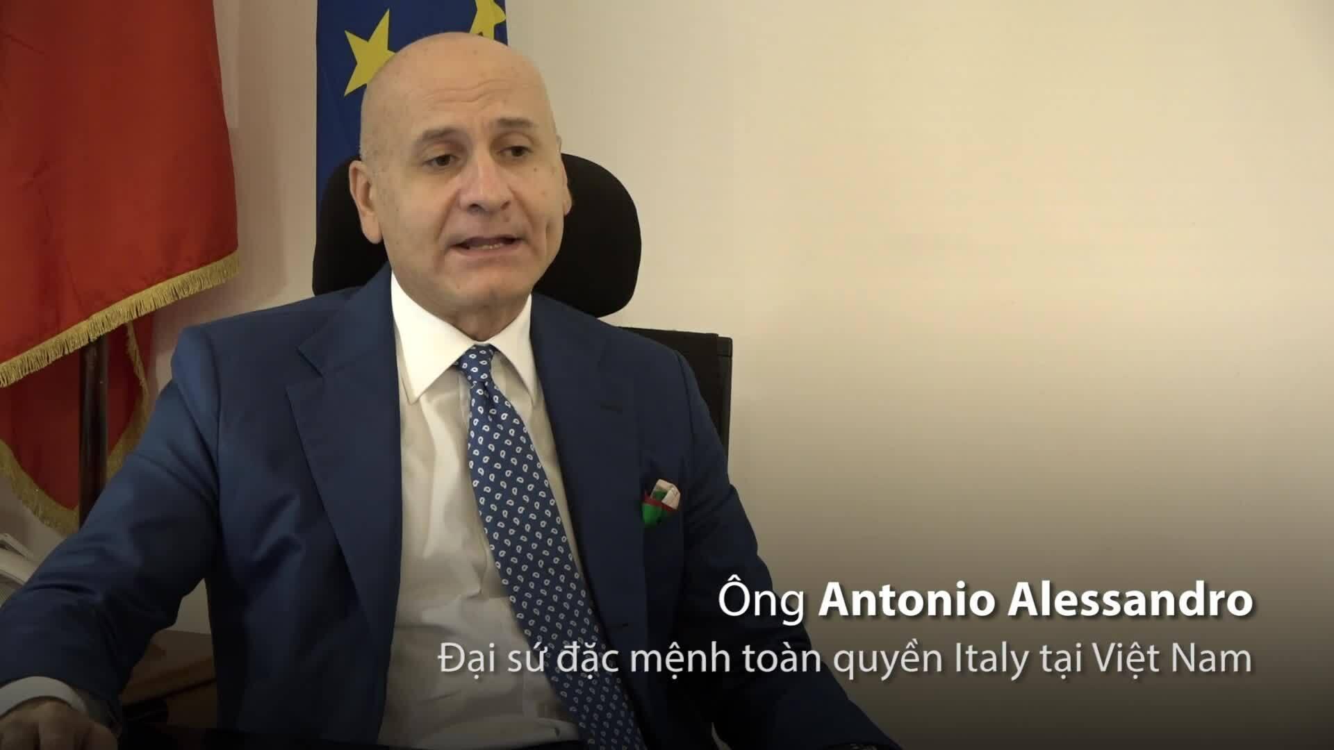 Đại sứ Italy lưu ý về thủ tục visa Schengen