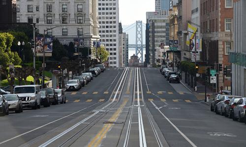 San Francisco hoang vắng