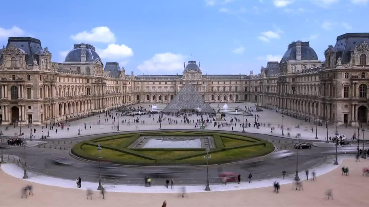 Tham quan bảo tàng Louvre miễn phí qua Internet