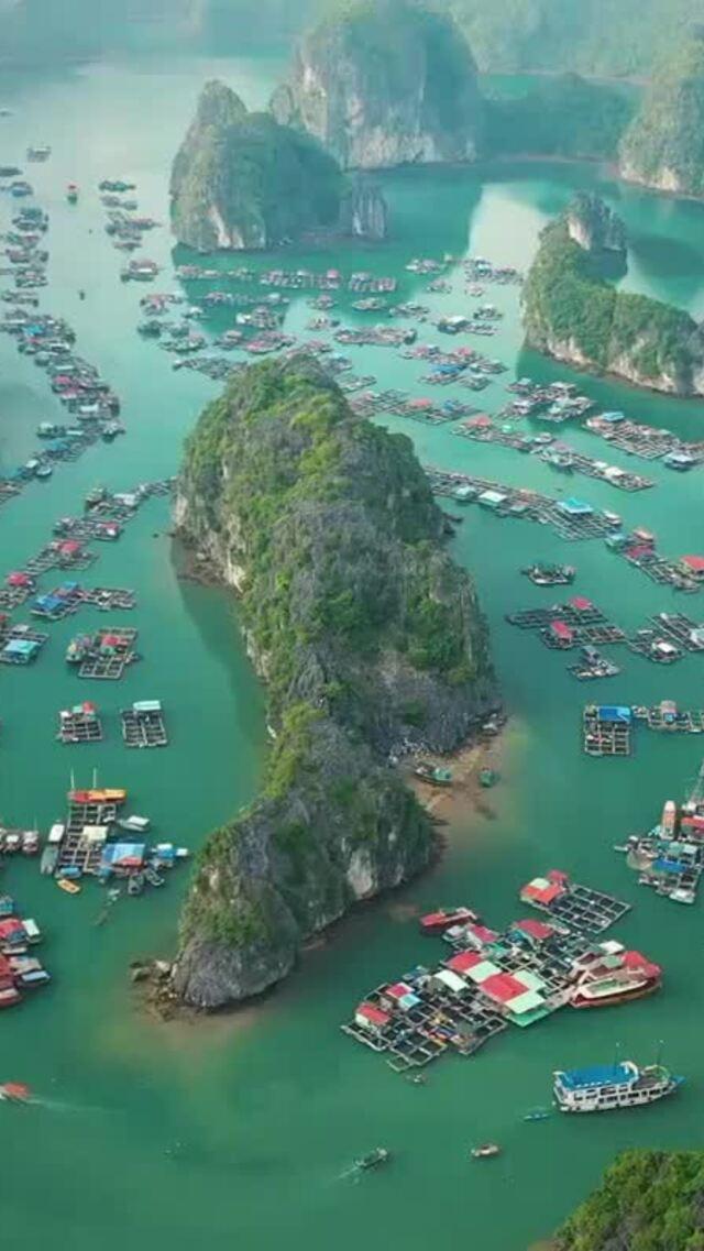 Ngôi sao 'Titanic' đăng tải video vịnh Lan Hạ