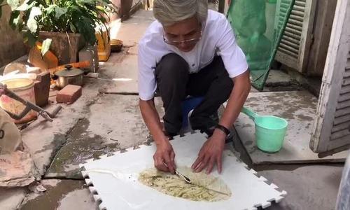 Nón xương lá bàng độc đáo xứ Huế