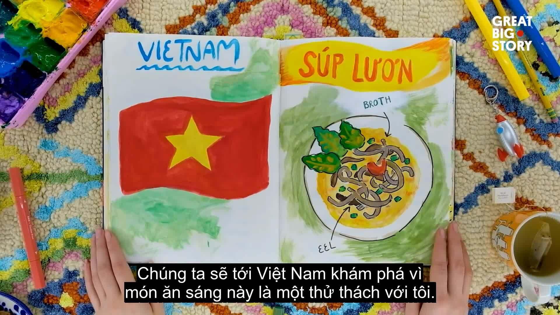 Báo Mỹ giới thiệu súp lươn Nghệ An