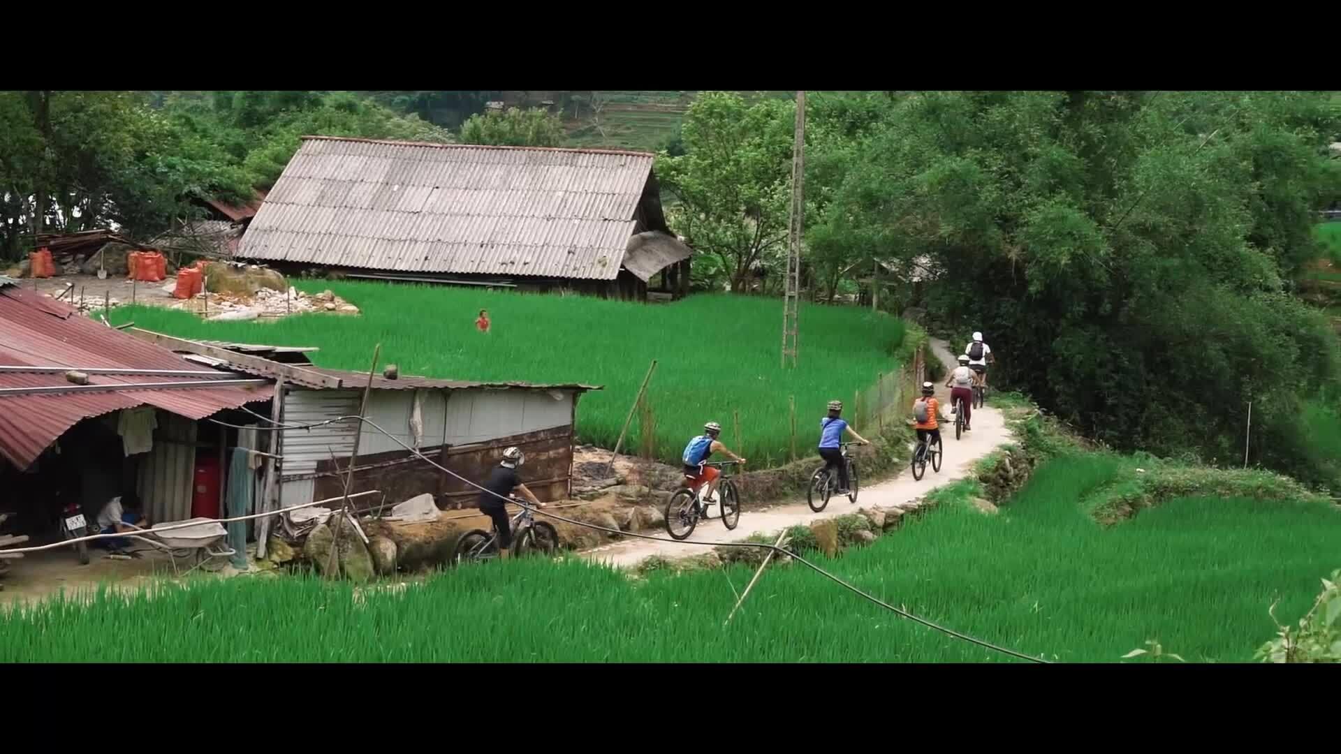 Video Khám phá thung lũng Mường Hoa bằng xe đạp