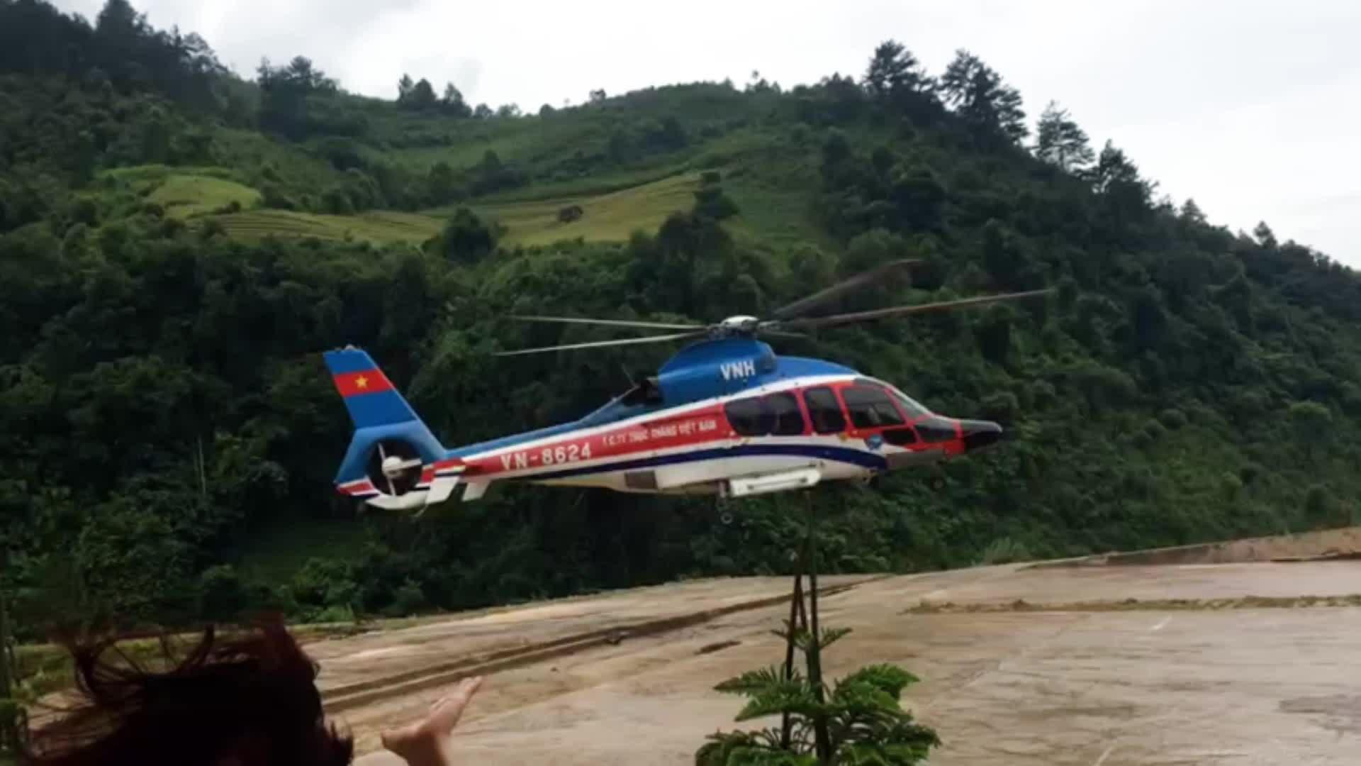 Khám phá Mù Cang Chải bằng trực thăng