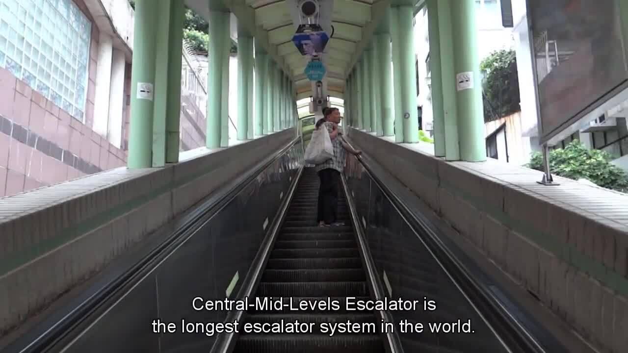 Thang cuốn dài nhất thế giới ở Hong Kong