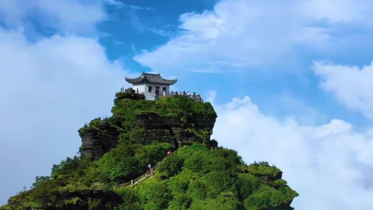 Bí ẩn về đền đôi ở Trung Quốc