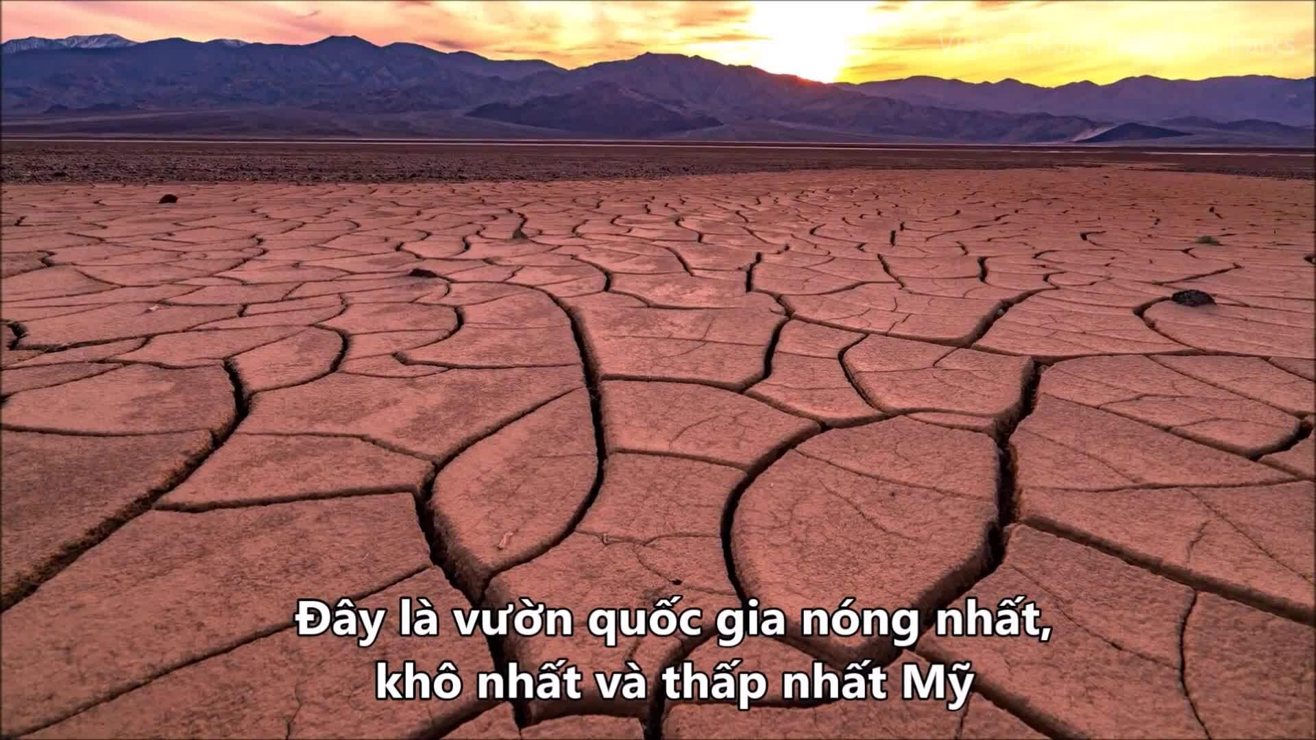 Thung lũng Chết nóng 57 độ C