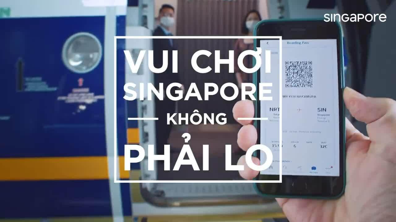 Hành trình du lịch 'bình thường mới' ở Singapore