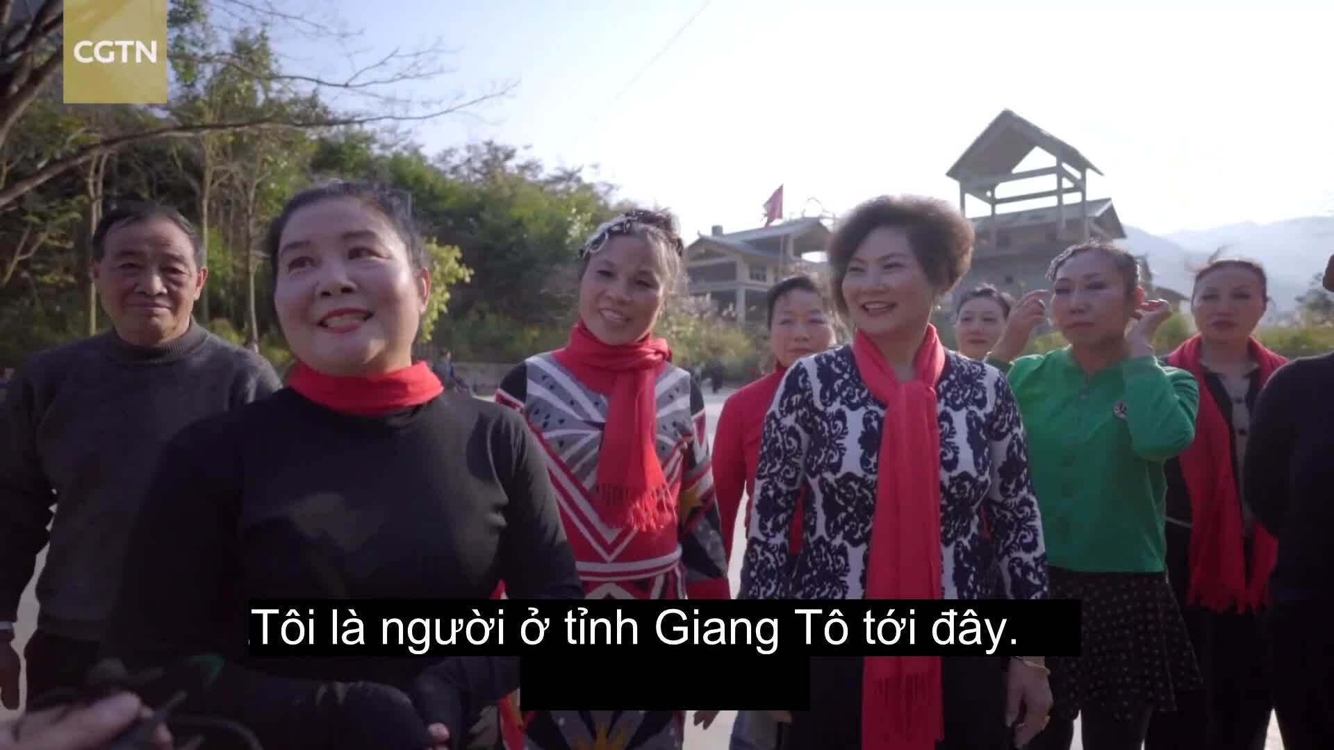 Ngôi làng 'trường thọ' ở Trung Quốc hút khách
