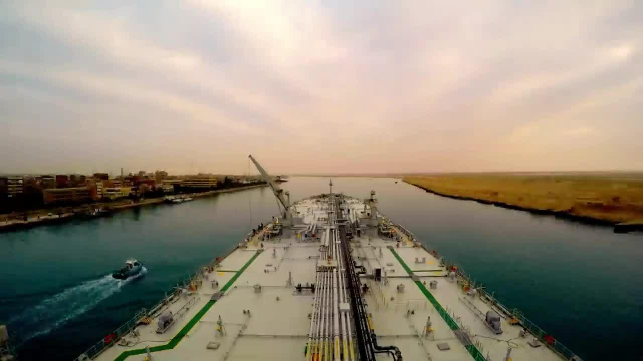 Kênh đào Suez - nơi 14 con tàu từng mắc kẹt suốt 8 năm