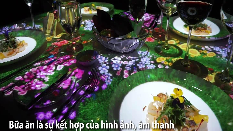 Trải nghiệm bữa tối với hình ảnh 3D