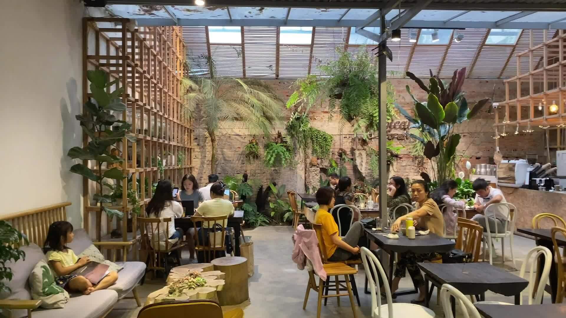 3 quán cà phê có không gian xanh giữa lòng thủ đô
