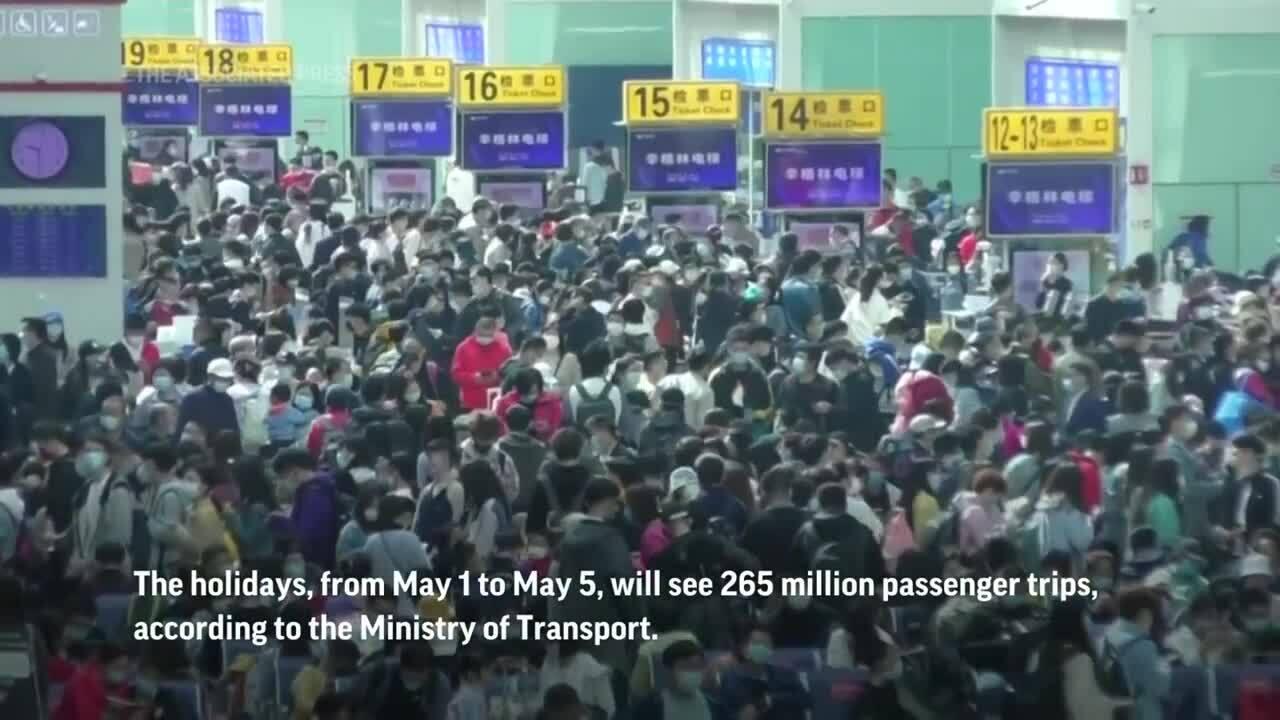Hàng triệu khách Trung Quốc nghỉ lễ