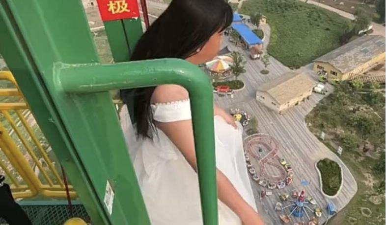 Cô dâu nhảy bungee cao 70 m