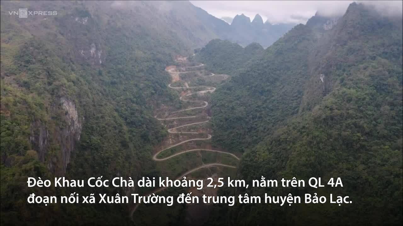 Check-in con đèo 14 khúc cua ở Việt Nam