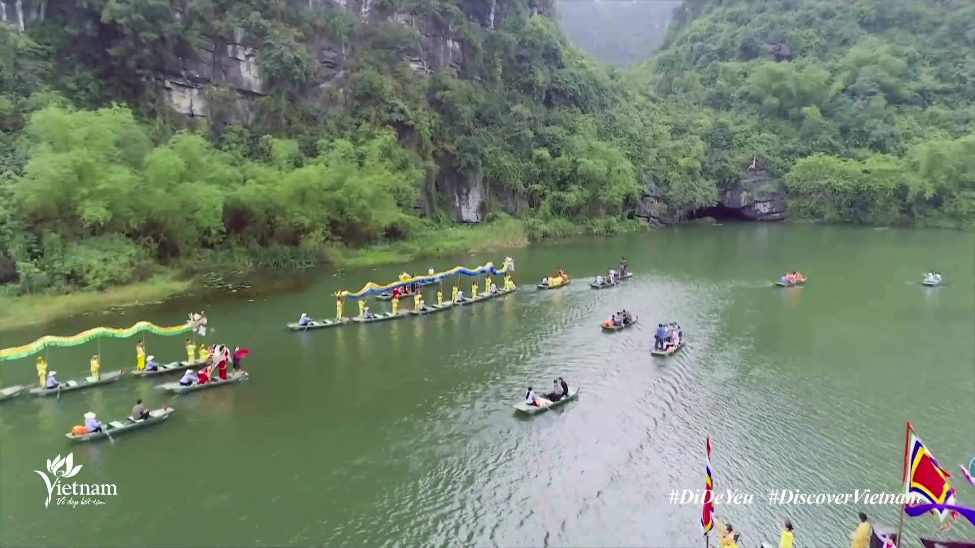 Cảnh sắc Ninh Bình qua video