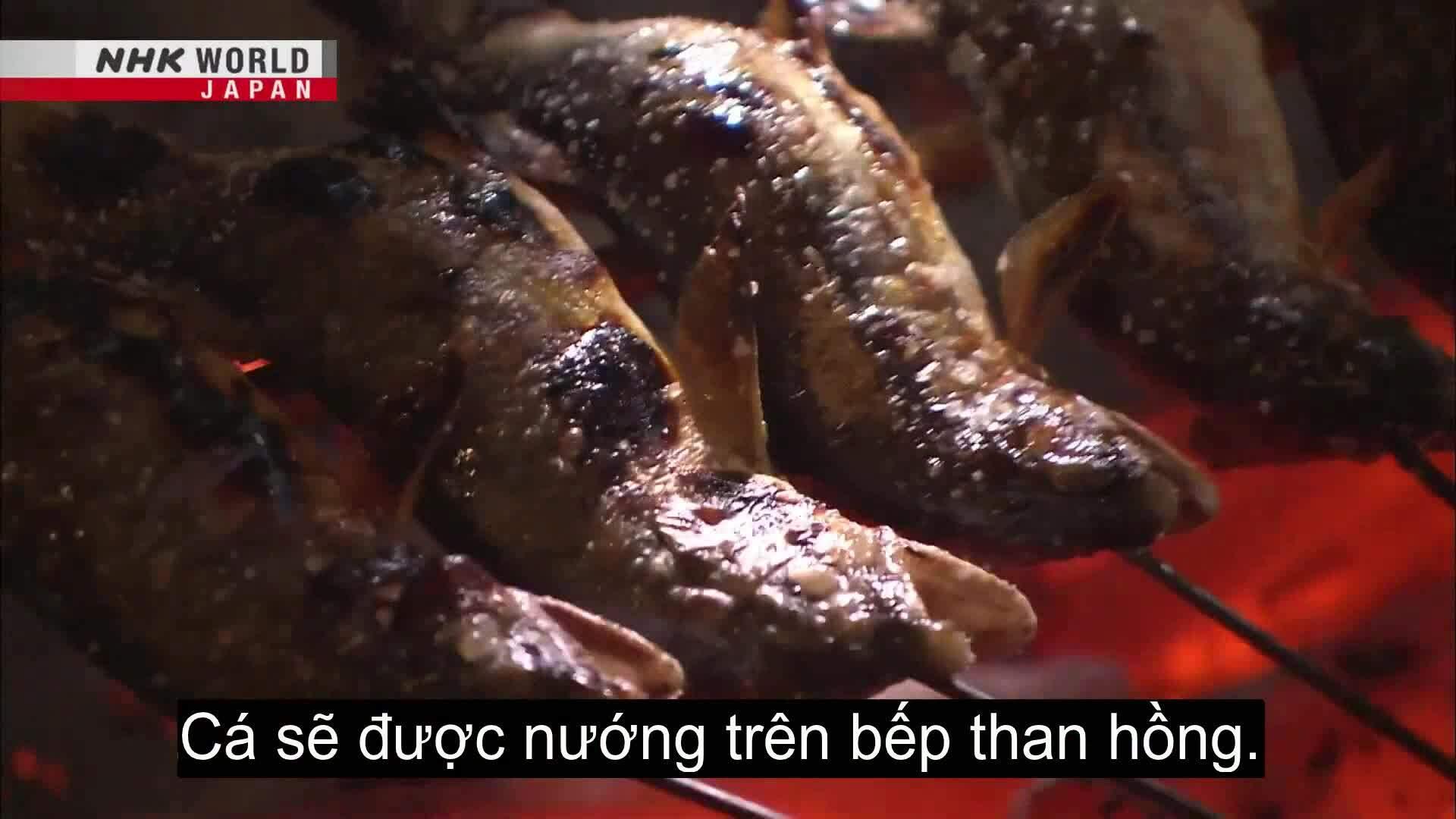 Nhà hàng hơn 400 năm bán cá thơm mùa hè