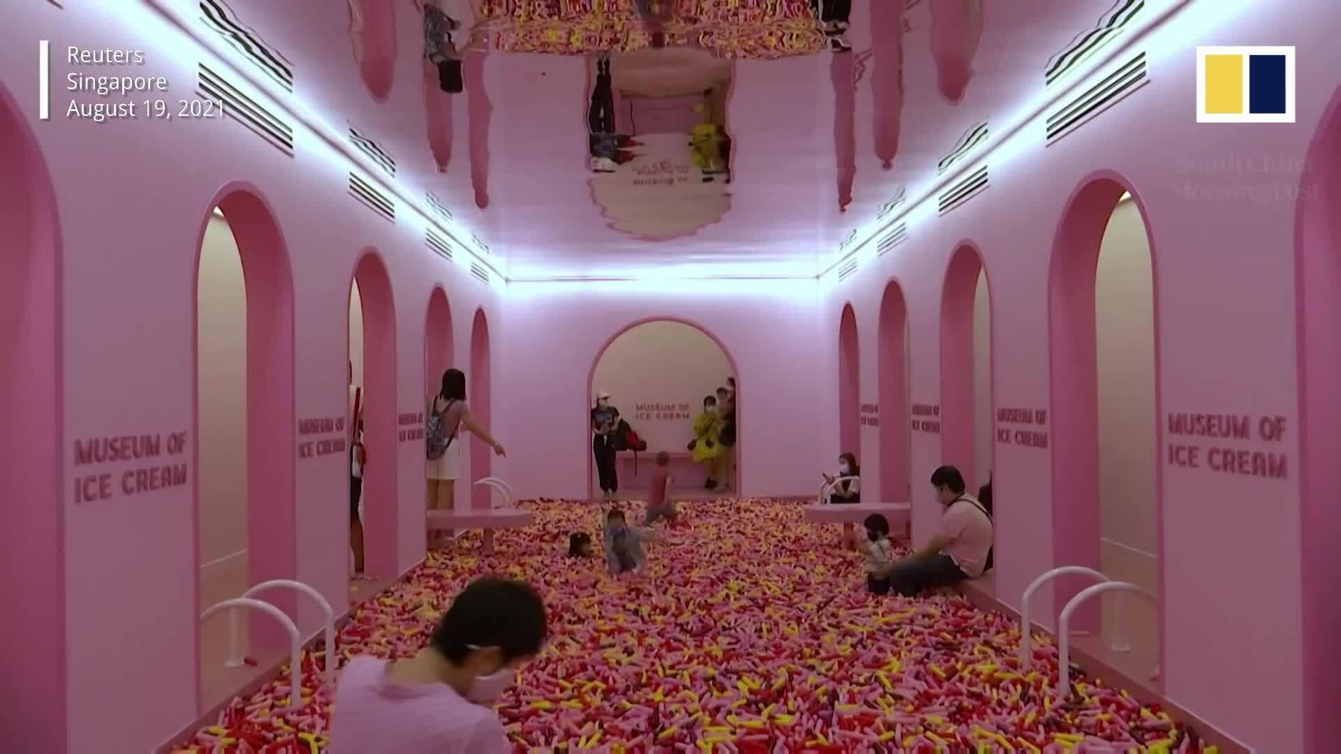 Bảo tàng kem đầu tiên ở Singapore