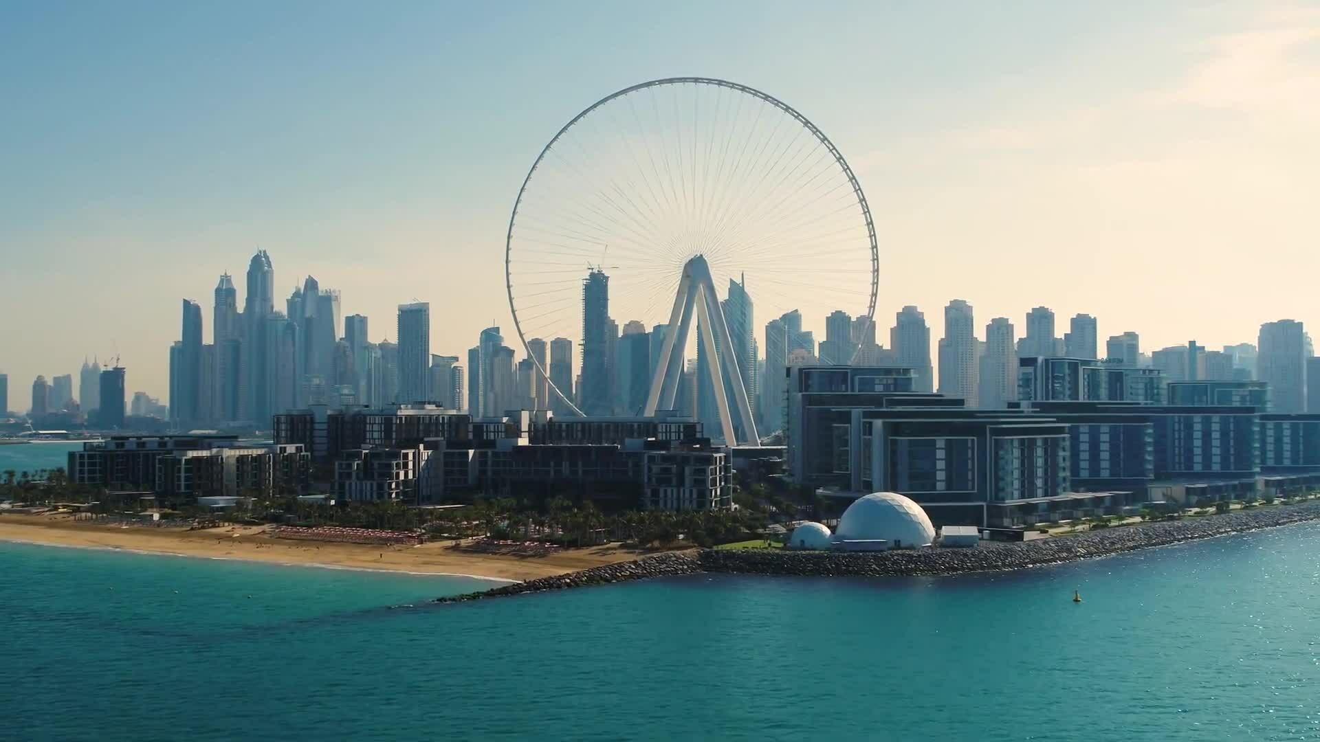 Vòng đu quay cao nhất thế giới ở Dubai
