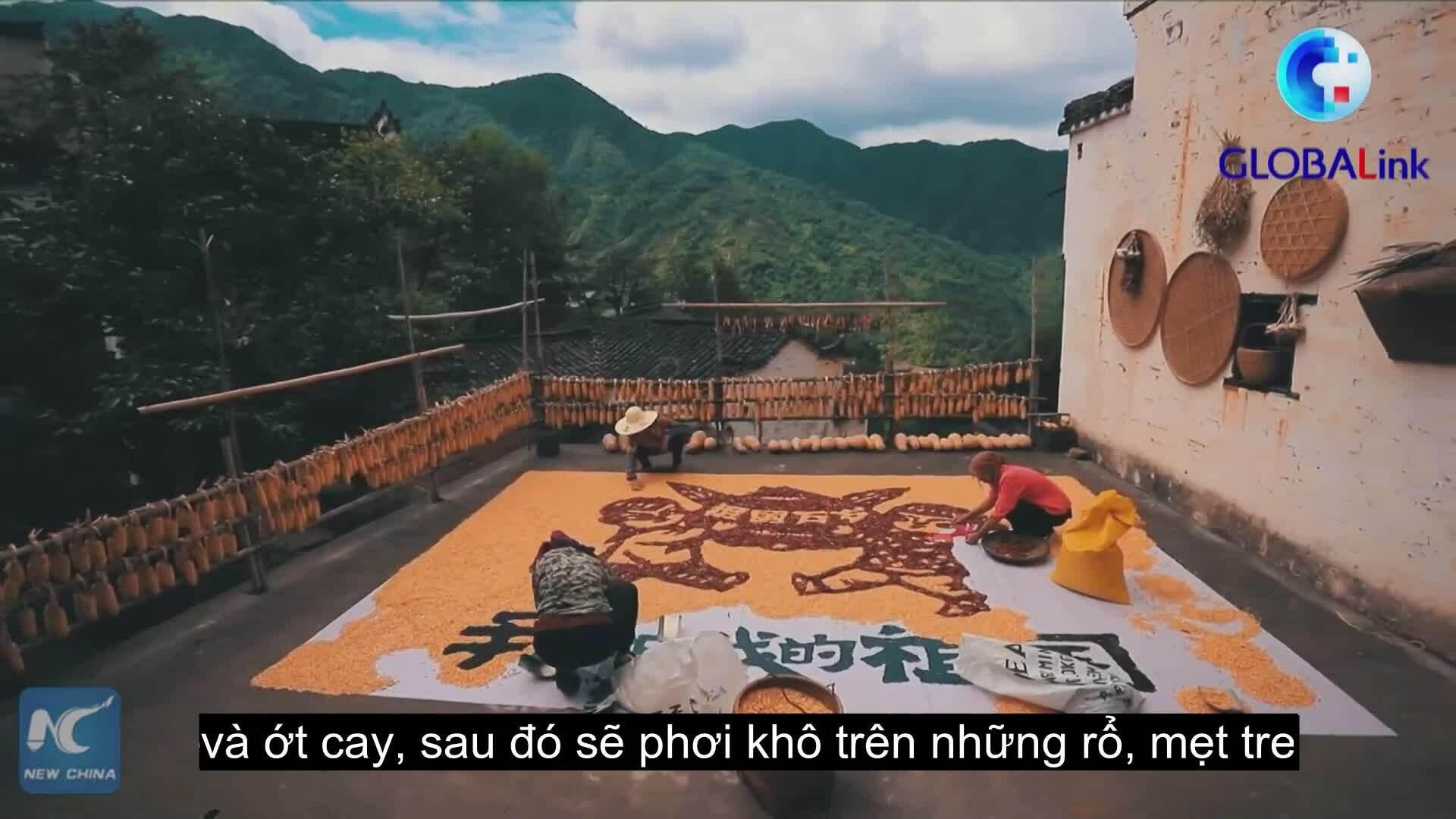 Trung thu ở ngôi làng đẹp bậc nhất Trung Quốc