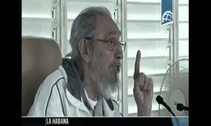 Fidel Castro made a rare public appearance