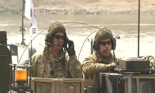 US, South Korea conduct military drills
