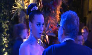 Sean Penn and Katy Perry turn out to support Sillicon Valley billionaire's cancer institute