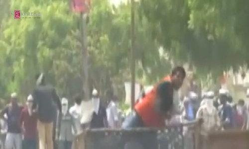 Indian town under curfew after violent protest