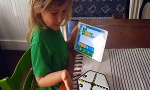 A robot to teach kids coding