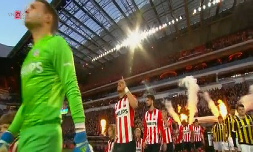 PSV Eindhoven beat Vitesse Arnhem 2-0 in chase for goals