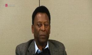 Pele tells his life story