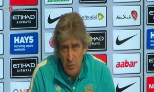 Manchester City's Pellegrini focused on winning against Stoke despite upcoming Champions League semi-final