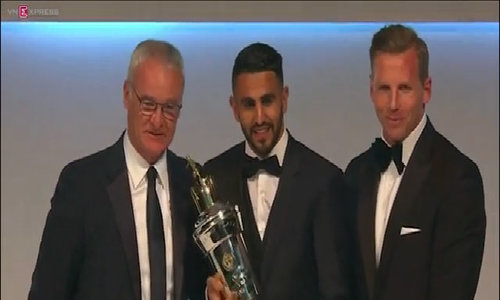 Mahrez named player of the year