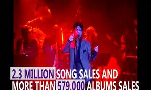 Late singer Prince music tops Billboard charts