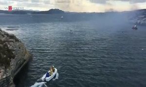 Helicopter with 13 aboard crashes off Norway