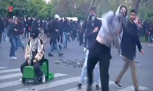 Protests turn violent in France