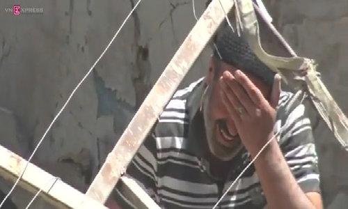 "Syria ceasefire ""barely alive"": U.N."