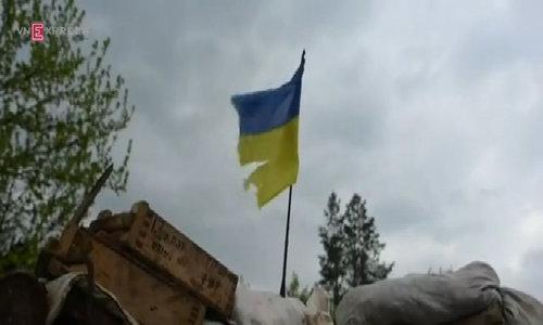 Heavy fires exchange in eastern Ukraine