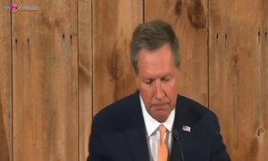 Republican Kasich suspends presidential bid