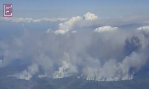 Canada fire rages for seventh day, evacuees set for long wait